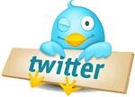 Подпишись на обновление через Twitter