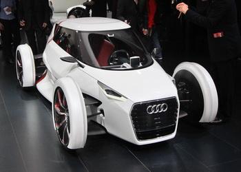 Audi: подзарядка без проводов