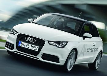 На улицах Мюнхена был замечен Audi A1 e-tron