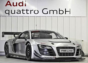 Обновленный R8 LMS Ultra от Audi