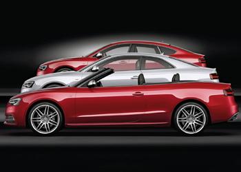 Обновлённое семейство Audi A5