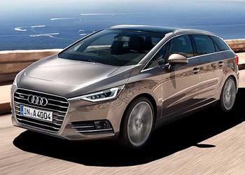Audi готовит семиместную модель SuperAvant
